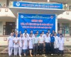 Youth Union of Thai Binh University of Medicine and Pharmacy participating the humanitarian examination and treatment program in Son Dong district, Bac Giang province