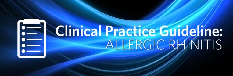 Clinical Practice Guideline: Allergic Rhinitis  Executive Summary