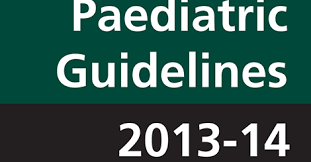 PAEDIATRIC GUIDELINES 2013-14